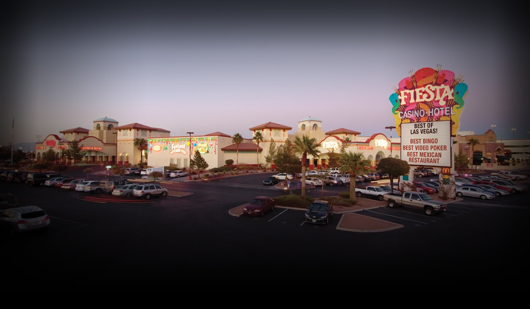 The exterior of Fiesta Rancho Hotel & Casino