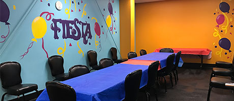 Fiesta Party Room
