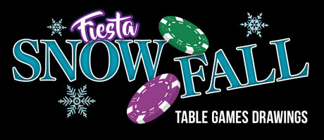 Fiesta Snow Fall Table Games Drawings