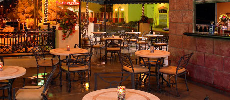 Patio Dining at Garduño's of Mexico inside Fiesta Rancho