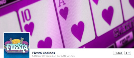 Fiesta Casinos Facebook cover